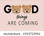 good things are coming message... | Shutterstock .eps vector #1923723941