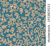 seamless pattern with abstract... | Shutterstock .eps vector #1923829211