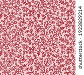 seamless pattern with abstract... | Shutterstock .eps vector #1923829214