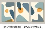 contemporary abstract shapes...   Shutterstock .eps vector #1923899531