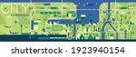 cityscape. flat vector... | Shutterstock .eps vector #1923940154