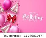 happy birthday vector... | Shutterstock .eps vector #1924001057