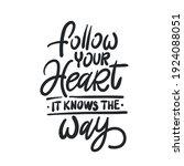 handwritten phrase about a... | Shutterstock .eps vector #1924088051