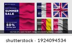 summer banner with the... | Shutterstock .eps vector #1924094534