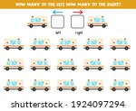 left or right with cartoon... | Shutterstock .eps vector #1924097294