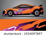racing car decal wrap design.... | Shutterstock .eps vector #1924097897