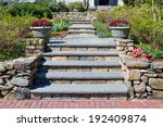 Home Entrance Walkway  Stone...