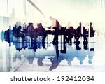 abstract image of business... | Shutterstock . vector #192412034
