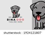 cute kawaii puppy dog mascot... | Shutterstock .eps vector #1924121807