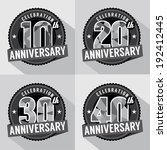 10,10th,20,20th,30,30th,40,40th,anniversary,background,badge,birthday,card,celebration,ceremony
