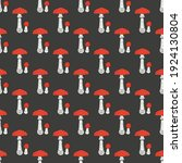 seamless pattern with fly...   Shutterstock .eps vector #1924130804