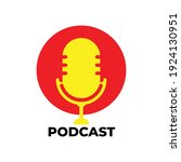 podcast icon. great vectors for ... | Shutterstock .eps vector #1924130951