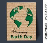 minimalistic postcard design... | Shutterstock .eps vector #1924156244