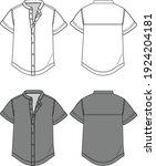 Chinese Collar Shirt Fashion...