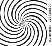 hypnotic spiral background.... | Shutterstock .eps vector #1924208504