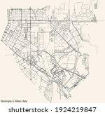 black simple detailed street... | Shutterstock .eps vector #1924219847