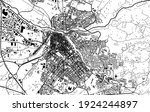 vector map of the city of... | Shutterstock .eps vector #1924244897