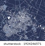vector map of the city of... | Shutterstock .eps vector #1924246571