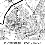 vector map of the city of... | Shutterstock .eps vector #1924246724