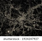 vector map of the city of... | Shutterstock .eps vector #1924247927