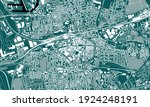 vector map of the city of... | Shutterstock .eps vector #1924248191
