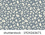vector trendy leopard skin... | Shutterstock .eps vector #1924263671