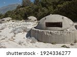 Old Albanian Bunker On The Beach