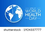 world health day is a global... | Shutterstock .eps vector #1924337777