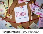 search concept. close up view... | Shutterstock . vector #1924408064