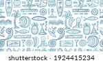 tropical lifestyle background.... | Shutterstock .eps vector #1924415234