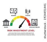 risk investment level concept... | Shutterstock .eps vector #1924451441