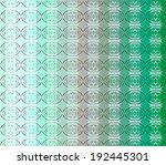 vector seamless pattern...   Shutterstock .eps vector #192445301
