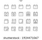 calendar. today  tomorrow ... | Shutterstock .eps vector #1924471067