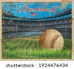 Baseball Vintage Retro Postcard ...