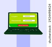 interface design of the login...