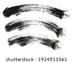 round brush thick curved... | Shutterstock .eps vector #1924511561
