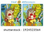 Find 10 Differences Hedgehog In ...