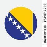 national bosnia and herzegovina ... | Shutterstock .eps vector #1924543244