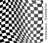 realistic detailed 3d checkered ... | Shutterstock . vector #1924548734