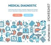 medical diagnostics flyer...   Shutterstock . vector #1924552457