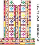 sindhi dress vector design and... | Shutterstock .eps vector #1924627454