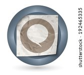 dark abstract icon with... | Shutterstock .eps vector #192465335
