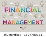 creative  financial management  ...   Shutterstock .eps vector #1924700381