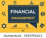 creative  financial management  ...   Shutterstock .eps vector #1924701611
