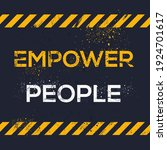 creative sign  empower people ...   Shutterstock .eps vector #1924701617