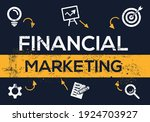 creative  financial marketing ... | Shutterstock .eps vector #1924703927