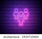 neon light. group line icon....   Shutterstock .eps vector #1924710404