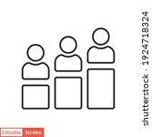 personal development line icon. ...   Shutterstock .eps vector #1924718324