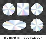 holographic stickers  hologram... | Shutterstock .eps vector #1924823927