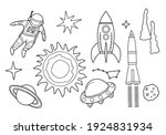 coloring book for children and...   Shutterstock .eps vector #1924831934